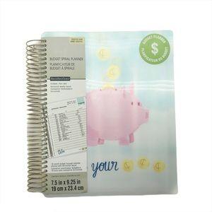 Piggy Budget Spiral Planner Undated 18 month Calen
